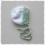 newborn_bonnet-white_green_blue_melange_frosted